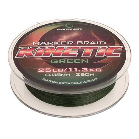 Леска плетеная Gardner Kinetic Marker Braid 250м