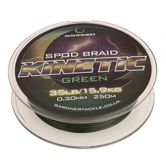 Леска плетеная Gardner Kinetic Spod Braid 250м