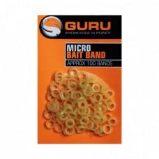 Колечко силиконовое для приманки Guru Micro Bait Bands