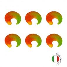 Силиконовые приманки на форель плавающие IRON TROUT CODA 2,5cm Sweet Yellow-Orange 6шт.