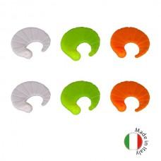 Силиконовые приманки на форель плавающие IRON TROUT CODA 2,5cm Sweet Mix Chiara 6шт.