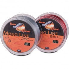Леска для ловли форели IRON TROUT MONO Line Red 250m
