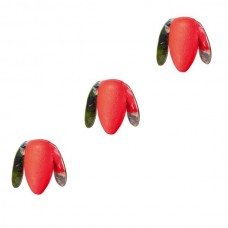 Пропеллер плавающий IRON TROUT Trout Rotor Float 15mm Fluo Red 3шт.
