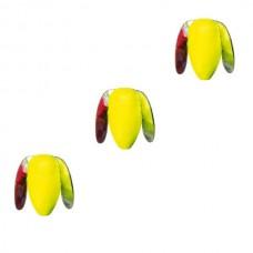 Пропеллер плавающий IRON TROUT Trout Rotor Float 15mm Fluo Yellow 3шт.