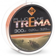 Леска для ловли форели IRON TROUT TREMA Line Fluo Orange 300m