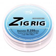 Леска плавающая Katran Zig Rig Ultra Clear