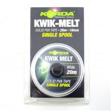 Лента растворимая Korda Kwik-Melt Solid PVA Tape 10mm 20m