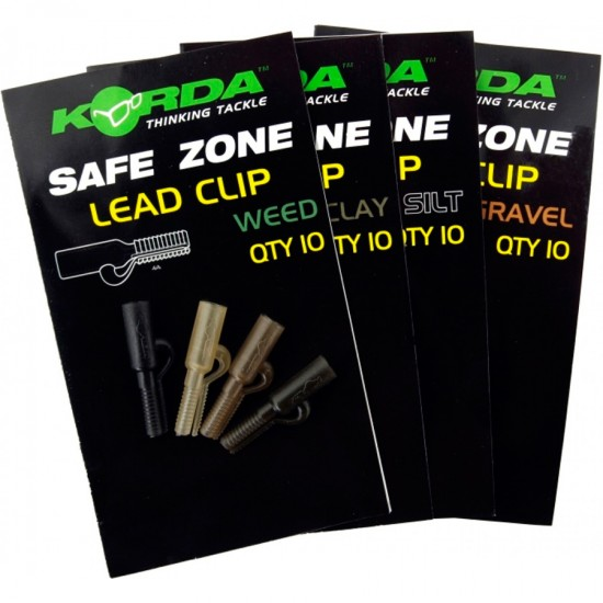Безопасная клипса Korda Safe Zone Lead Clip