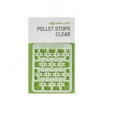 Стопоры для пелетса KORUM Clear Pellet Stops 32шт.