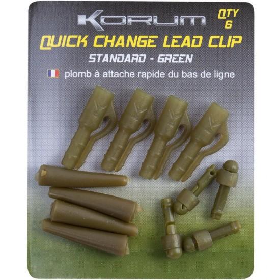 Клипса для грузил с конусом и коннектором KORUM Quick Change Lead Clip