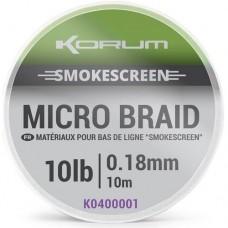 Поводковый материал KORUM Smokescreen Micro Braid 10m