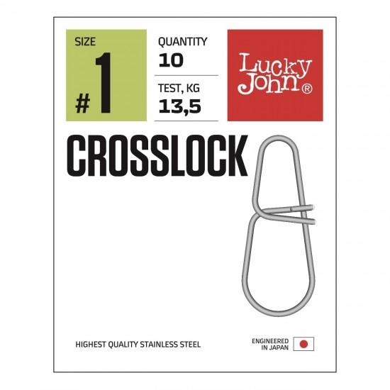 Застежки Lucky John Pro Series CROSSLOCK