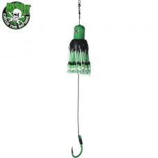 Блесна вертикальная MADCAT A-STATIC ADJUSTABLE CLONK TEASER Jig Hook GREEN