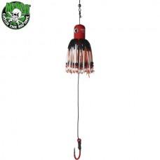 Блесна вертикальная MADCAT A-STATIC ADJUSTABLE CLONK TEASER Jig Hook RED