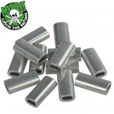 Алюминиевые обжимные трубки MADCAT ALUMINIUM SLEEVES 16 шт.