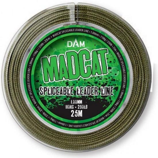 Снаг-лидер MADCAT SPLICEABLE LEADER LINE 25m 1.0mm 110kg