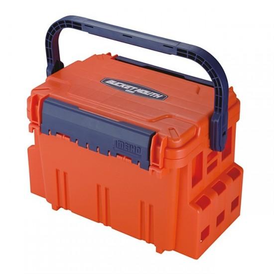 Ящик рыболовный MEIHO Bucket Mouth BM-5000 Orange 440x293x293