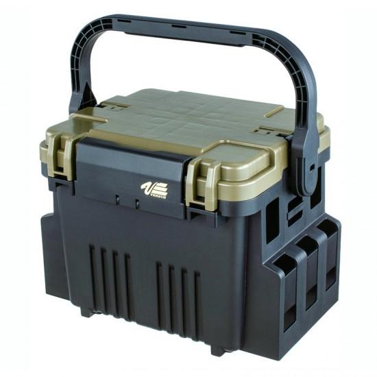 Ящик рыболовный MEIHO Versus VS-7080N Black 375x293x275