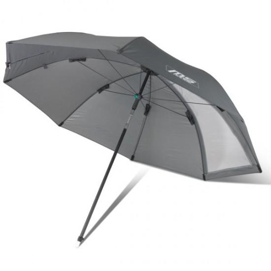 Зонт рыболовный с наклонным куполом MS RANGE Easy Cast Brella Ø 2.3m