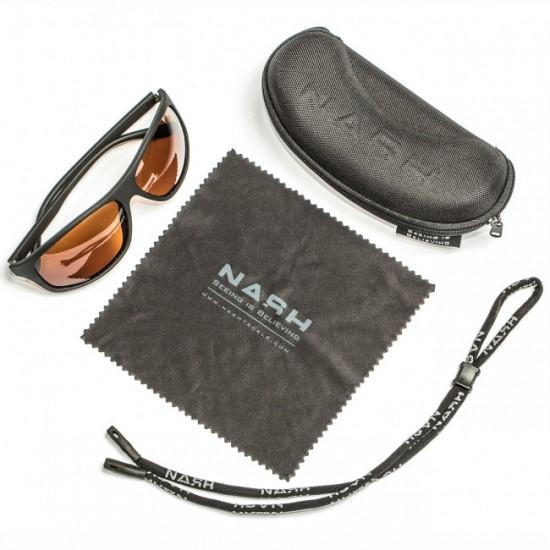 Очки солнцезащитные NASH Amber Wraps