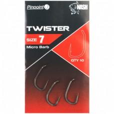 Крючки карповые NASH Pinpoint Twister