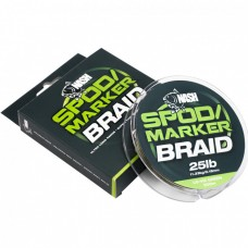 Леска плетеная NASH Spod and Marker Braid Lo-Viz Green 300m