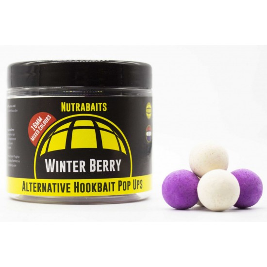Бойлы плавающие Nutrabaits Aternative Hookbaits Pop-Ups WINTER BERRY 16мм