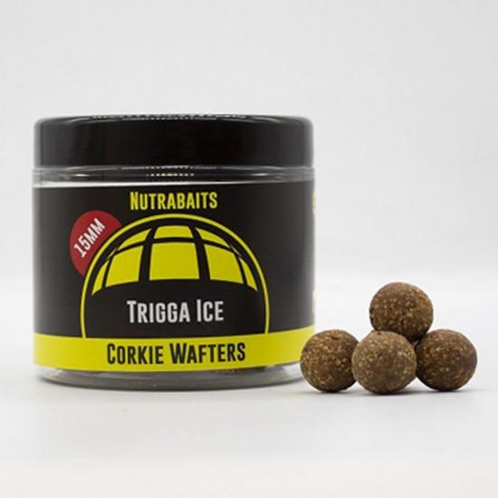 Бойлы нейтральной плавучести Nutrabaits Corkie Wafters TRIGGA ICE 15/18мм