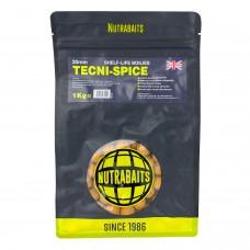 Бойлы тонущие Nutrabaits Shelf-Life TECNI-SPICE 15/20мм 1кг