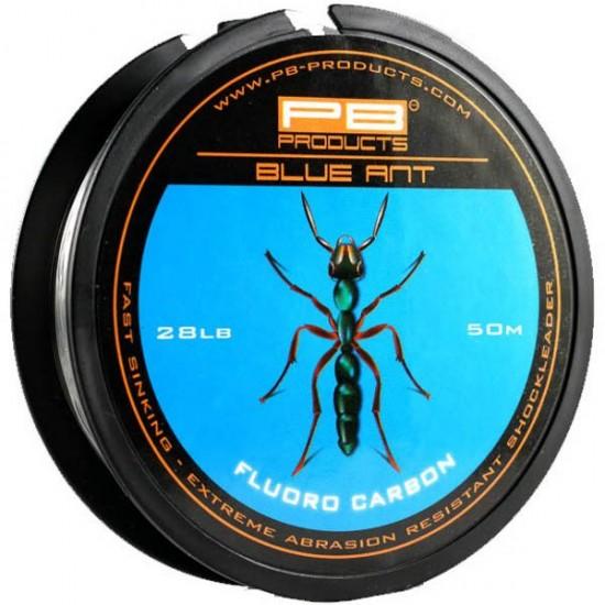 Шок лидер PB Products BLUE ANT Fluoro Carbon 28lb 50m