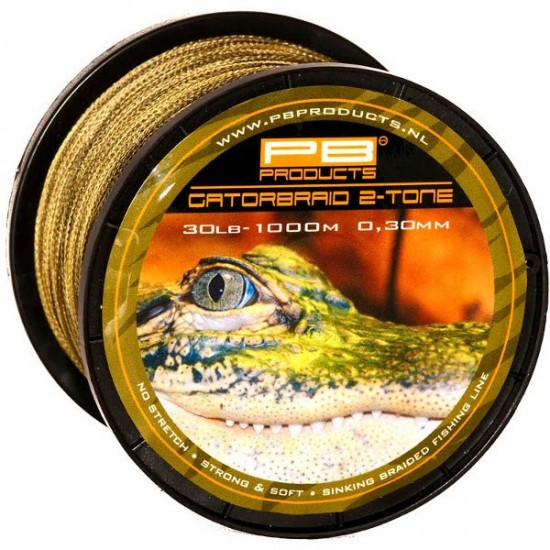 Леска плетеная PB Products GATOR BRAID 1000m