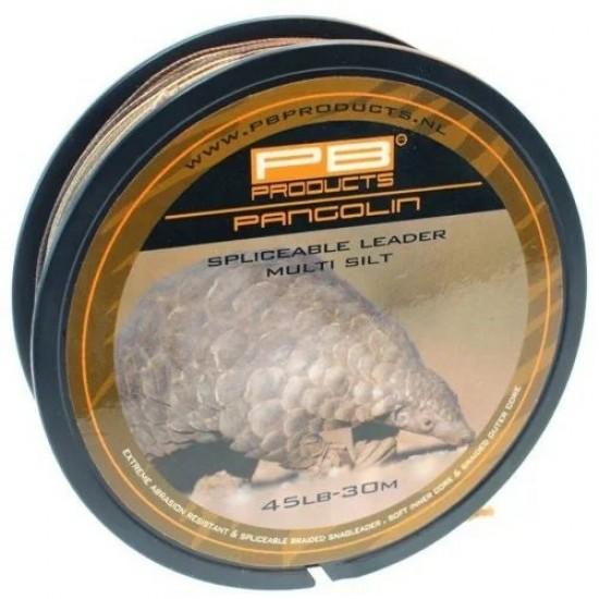 Противозакручиватель с сердечником PB Products PANGOLIN Leader 45lb 30m