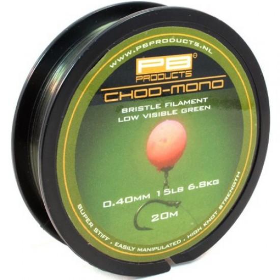 Поводковый материал PB Products CHOD MONO 20m 15/20/25lb