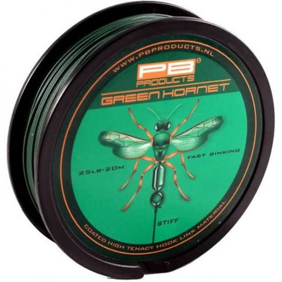 Поводковый материал PB Products GREEN HORNET Weed 20m