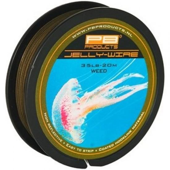 Поводковый материал PB Products JELLY WIRE 20m 15/25/35lb