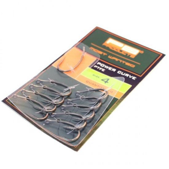 Крючки карповые PB Products POWER CURVE PTFE