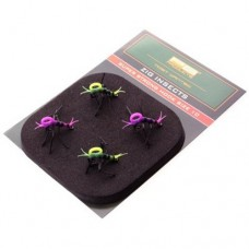 Готовая оснастка для Zig Rig PB Products ZIG INSECTS Super Strong №10 Yellow/Pink