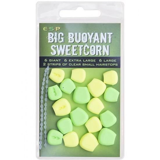 Плавающие приманки ESP Big Fluoro Buoyant Sweetcorn 18шт.