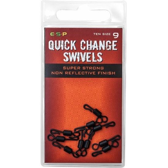 Вертлюг с застежкой ESP HP Quick Change Swivel №9 10шт.