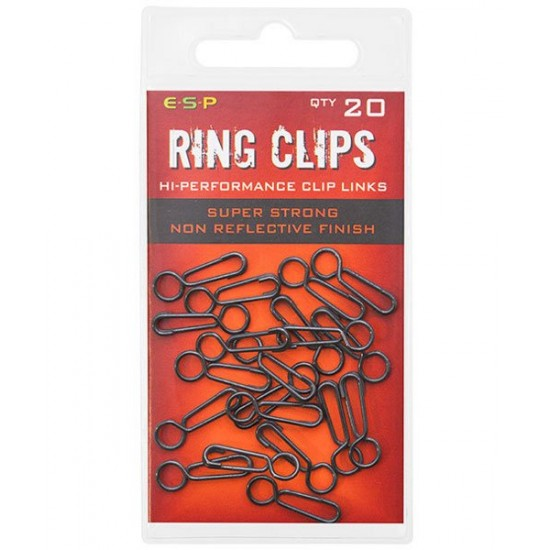 Застежки ESP HP Ring Clips 20шт.