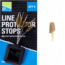 Стопоры для фидерной оснастки Preston Innovations LINE PROTECTOR STOPS 6шт.