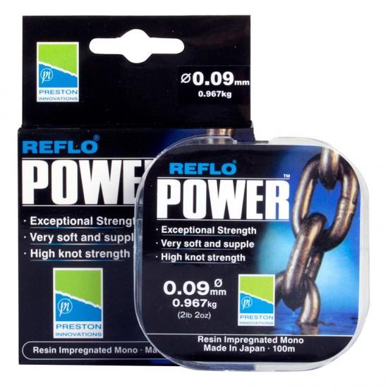 Леска фидерная Preston Innovations REFLO POWER 100m