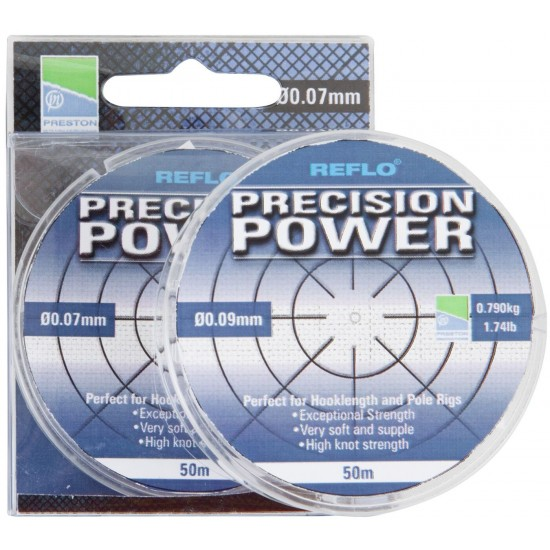 Леска Preston Innovations REFLO PRECISION POWER 50m