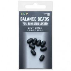 Бусины утяжеленные ESP Tungsten Loaded Balance Beads Large 0,6г 8шт.