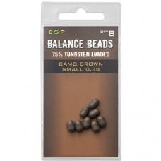 Бусины утяжеленные ESP Tungsten Loaded Balance Beads Small 0,3г 8шт.