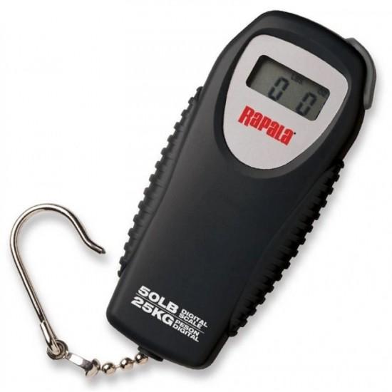 Весы цифровые RAPALA RMDS-50 компактные 25кг