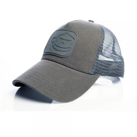Бейсболка Ridge Monkey APEarel Dropback Pastel Trucker Cap Grey
