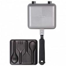 Тостер с кухонными принадлежностями Ridge Monkey Deep Fill Sandwich Toaster Silver