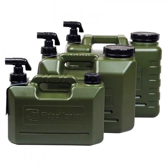 Канистра для воды с краном Ridge Monkey Heavy Duty Water Carriers 5/10/15л