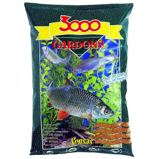 Прикормка Sensas 3000 GARDONS (плотва) 1кг